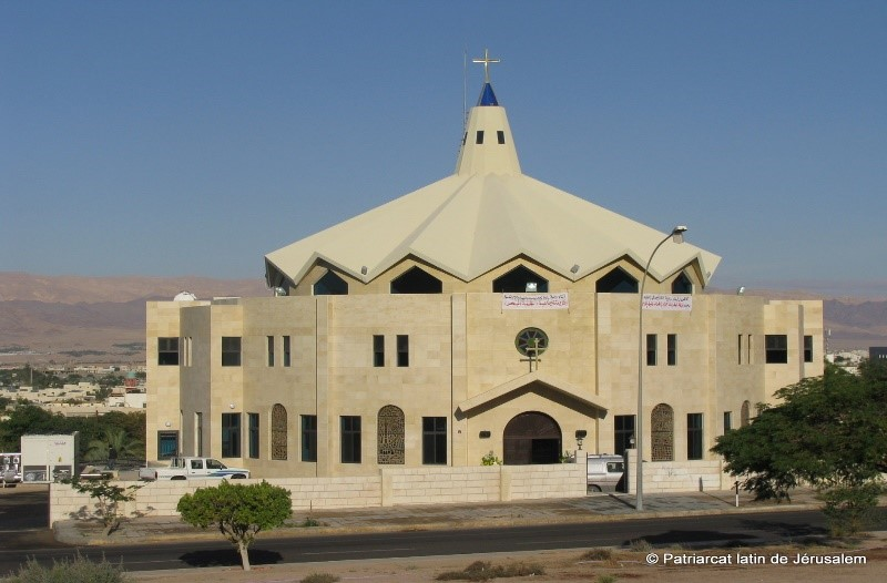 Stella Maris Church – Aqaba